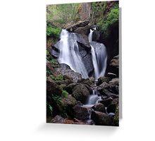 Waterfall (Burn O Vat, Aberdeenshire) Greeting Card