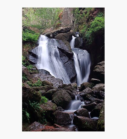 Waterfall (Burn O Vat, Aberdeenshire) Photographic Print