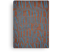 Ravenclaw (Harry Potter) Canvas Print