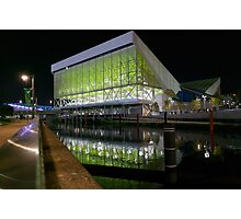 Aquatics Centre at Night Photographic Print
