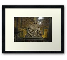 Pietà (Michelangelo) Framed Print