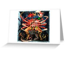 Ecce Homo 125 - THE ZODIAC - CANCER Greeting Card