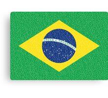 Brazil Flag Canvas Print