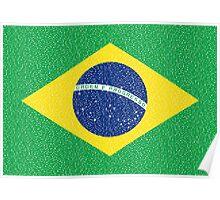 Brazil Flag Poster