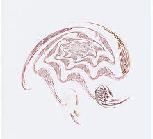 Artistic Brain Photographic Print