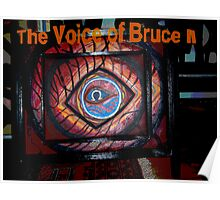 The Voice Of Bruce II (Omega Zero) Poster