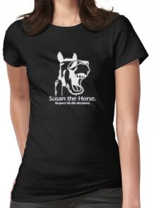 Susan the Horse - Doctor Who Womens Fitted T-Shirt