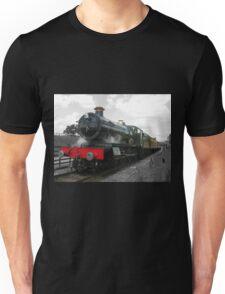 Vintage steam engine railway train Unisex T-Shirt