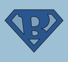 Super Blue B Logo by adamcampen