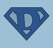 Super Blue D Logo by adamcampen