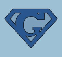 Super Blue G Logo by adamcampen
