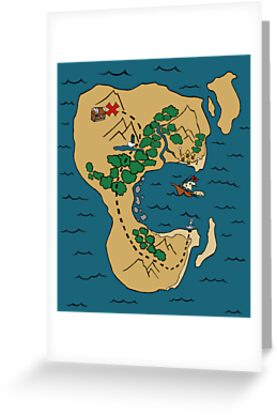 Pirate Map by pondripple
