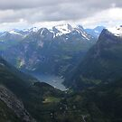Geiranger Vally in Norway by Sweetpea06