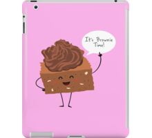 BROWNIE TIME! iPad Case/Skin