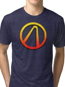 Borderlands 2 vault logo Tri-blend T-Shirt