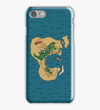 Pirate Map iPhone Case/Skin
