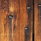 Nail Stains on Wood by Karen Jayne Yousse