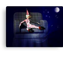 Clown Doll Canvas Print