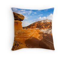 Beautiful Badlands Throw Pillow