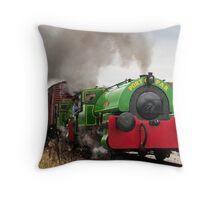 Port of Par Twins, Alfred and Judy Throw Pillow