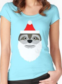 Father Slothmas! Women's Fitted Scoop T-Shirt