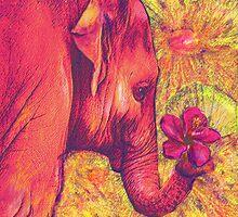 pink elephant by jashumbert