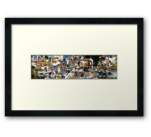 Slaves and Gladiators Framed Print