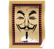 Anonymous Guy Fawkes Mask Poster