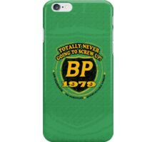 Retro BP Shirt iPhone Case/Skin