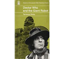 Doctor Who and the Giant Robot - Penguin style Photographic Print