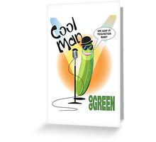 Cool Man Greeting Card