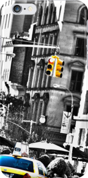 NYC Taxi Photography iPhone Case by ddfoto