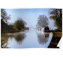 Winter Clayworth Morning II Poster