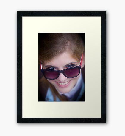 Easy rider . by Doctor Faustus. Framed Print
