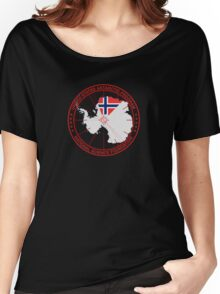 ANTARCTICA - USA/Norway Women's Relaxed Fit T-Shirt