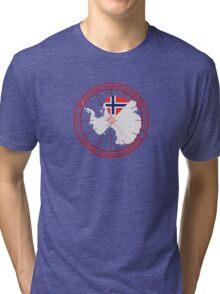 ANTARCTICA - USA/Norway Tri-blend T-Shirt