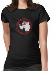 ANTARCTICA - USA/Norway Womens Fitted T-Shirt
