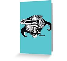 Frustration Turmoil - 2013 Greeting Card