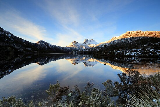 Crystal Cradle Mountain by tinnieopener
