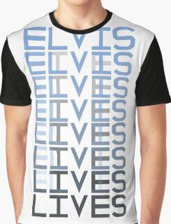 Elvis Lives Graphic T-Shirt