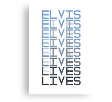 Elvis Lives Canvas Print