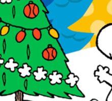 snoopy christmas Sticker