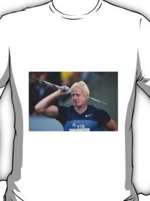 Boris competes in Olympic javelin T-Shirt