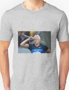 Boris competes in Olympic javelin Unisex T-Shirt