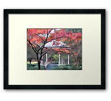 Gazebo at Timrod Park Framed Print