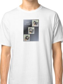 Rottweiler Collage Birthday Greeting Classic T-Shirt