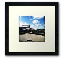 Frank Lloyd Drain Framed Print