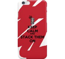 THE ART OF STACKING BANGLES - Keep Calm iPhone Case/Skin