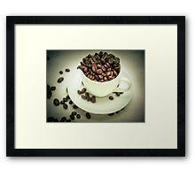 I like my coffee strong! Framed Print