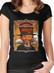 Steampunk MAD Women's Fitted Scoop T-Shirt